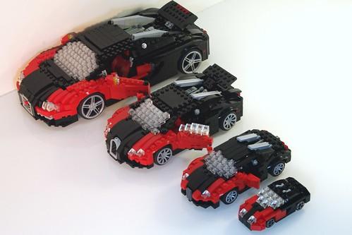 Смотреть как сделать из лего мини машину