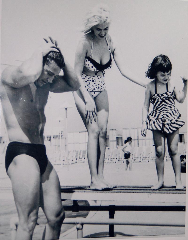 everyday_i_show: Steve McQueen and Neile AdamsAlain Delon