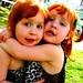 Riley Angela and Rory Georgina Weasley