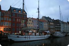 Nyhavn's Copenhagen (SonniTranquilli) Tags: november winter colors copenhagen denmark nyhavn novembre ship barche canals inverno colori 2009 danimarca canali