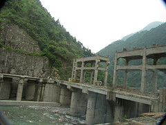 Views of Hydropower Stations (treasuresthouhast) Tags: china river dam sichuan hydropower
