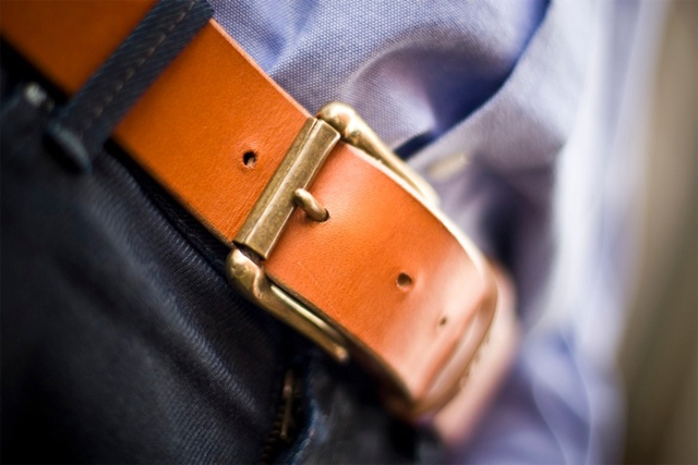Palmer & Sons Leather Belt No 15a 03