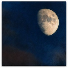 sister moon (beesquare) Tags: summer sky moon clouds evening lyrics nikon song sting luna handheld astronomy lunar heavenly axis celestial sistermoon d90 55200mm heavenlybody oneofmyfavouritesongs ilovemyzoom flypapertextures summerpainterly