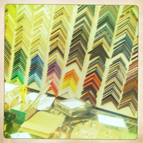 Rainbow of Frames