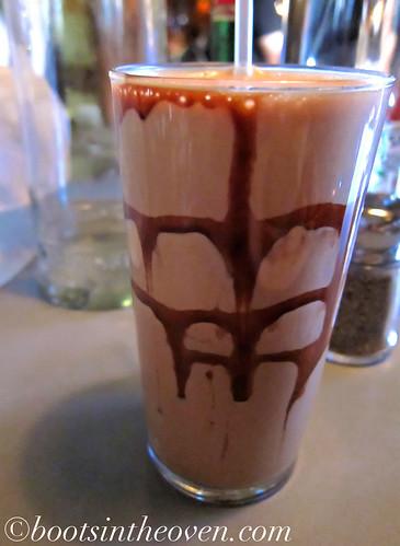 Chocolate Egg Cream $2