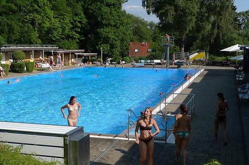 Freibad Königstein Juli 2010