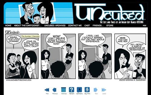 new UNcubed look 7-2010