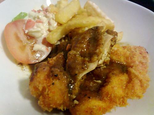 Chicken chop - Damansara Perdana