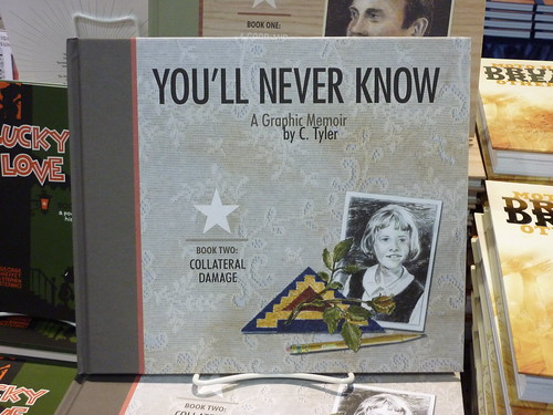 Comic-Con 2010 debut: You'll Never Know, Book 2: Collateral Damage by C. Tyler