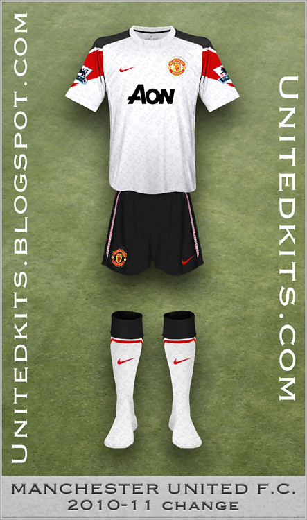 Manchester United 2010-11 Change kit