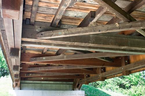 Larkin's Covered Bridge (Underneath) 084