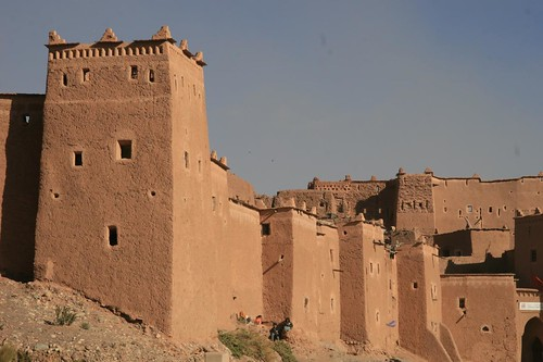Kasbah Taourirt em Ouarzazate Marrocos