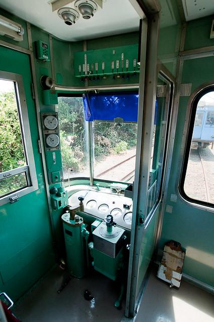 銚子電鉄2000形 クハ2502運転台