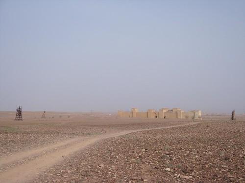 Cenário do filme Kingdom of Heaven em Ouarzazate Marrocos