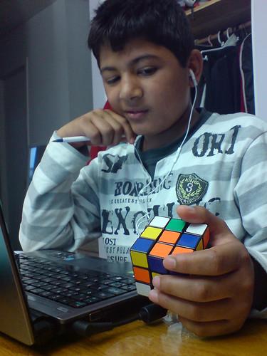 201007_23_02k - Rubik's Cube