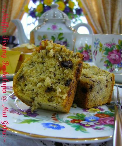 Muffin Pisang Berkelapa