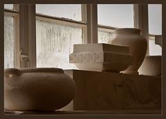Studio'' (Matilda Diamant) Tags: stilllife art window stone studio croatia tqm rusalka