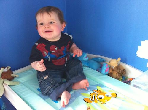 Nemo changing mat! Hurrah for Tescos!