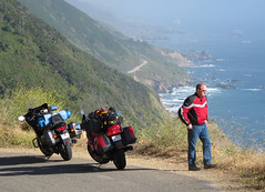 Big Sur Motorcycle Riding and Camping