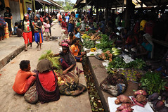 Wamena Market (nickkuchmak) Tags: travel mountain trekking trek indonesia outdoors highlands southeastasia hiking traditional dani tribal adventure missionary backpacking tribes backcountry tribe papua lani rtw cannibal indigenous newguinea aroundtheworld westpapua yali honai irianjaya wamena papuan angguruk theworldonatoilet onatoilet