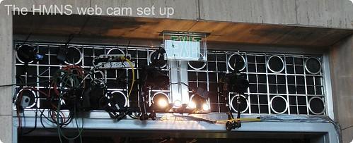 HMNS Web Cam Set Up