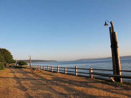 Langley's Seawall Park