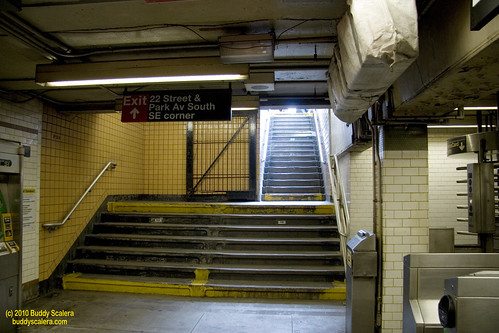 NYC Subway   Stairs Light
