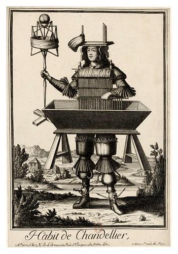 036-Vestimenta de candelero-Les Costumes Grotesques 1695-N. Larmessin-BNF