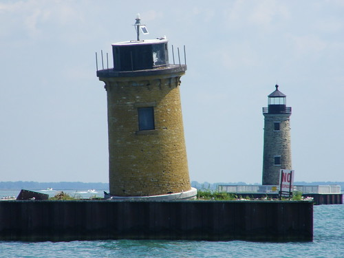 St. Clair Flats South Channel Range Lights (Lake St. Clair, Michigan)