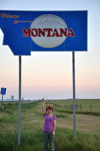 Jessie's in Montana!