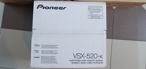 Pioneer - VSX-520-K - 5.1-Channel 3-D Ready A/V Receiver (New) 4856481738_9421265045