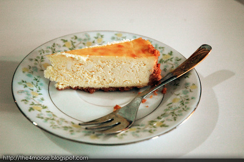 National Day Luncheon - Cheesecake
