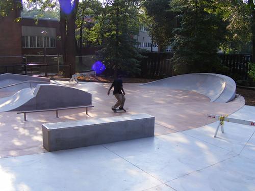 New Woodside Park Skate Spot