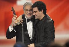 Placido Domingo erhielt sein BAMBI von Rolando...