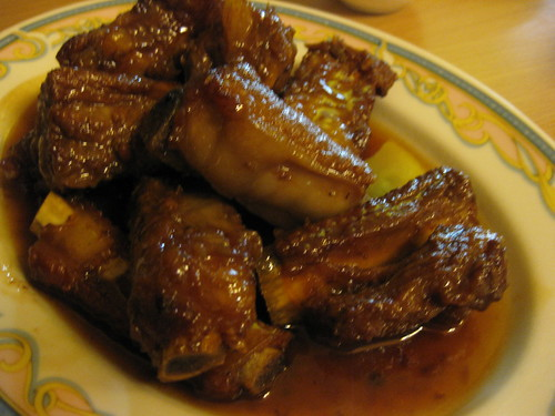 sweet and sour pork rib