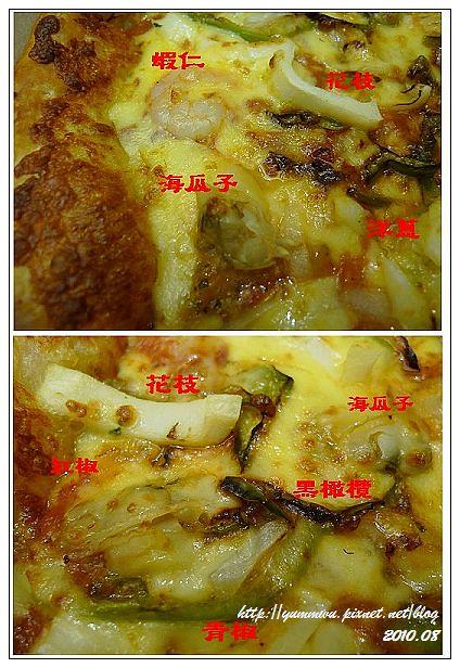 達美樂海宴雙拼披薩(8)