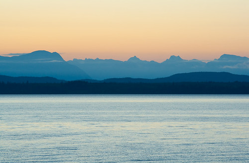 Sunrise on Quadra Island