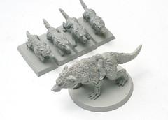 Iron Priest War Wolf Mount Set