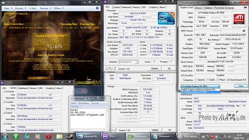 Benchmarkscreen Aquamark