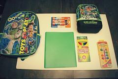 day 216 Kid 2 school stuff (oceanbleu photography/behind again!) Tags: kindergarten kid2 day216