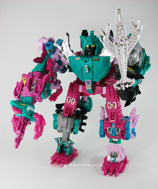 Transformers Seacons G1 Reissue  - modo Piranacon