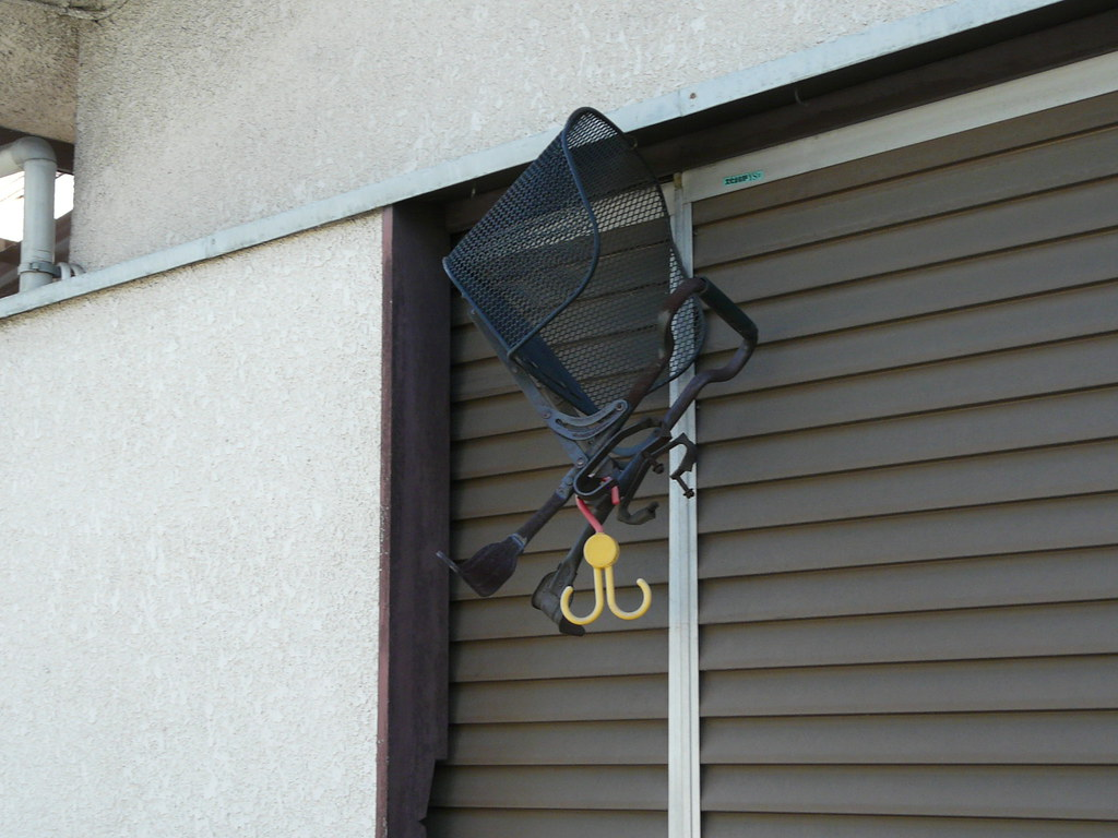 Bicycle Child Seat Storage