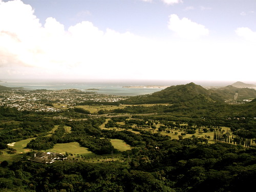Pali Lookout.