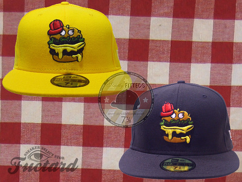Burger New Era(Yellow & Blue)