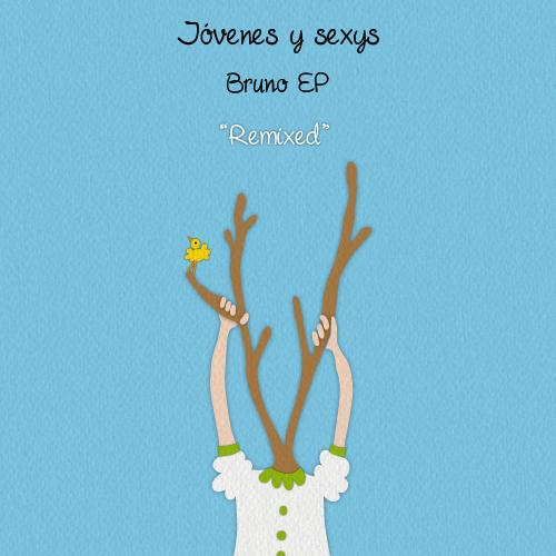 """""""remestura"""" da capa do EP Bruno, de Jóvenes y Sexys"""