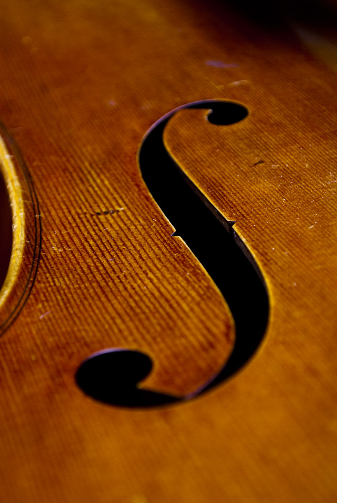 The Cello - Sound Hole
