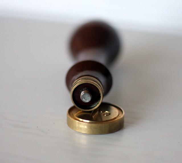 Herbin Wood Handle for Brass Wax Seals 4