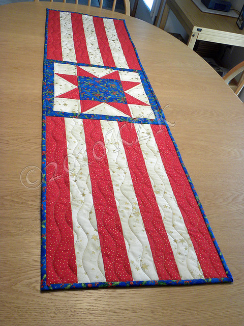 DSCN5802 Star Table Runner