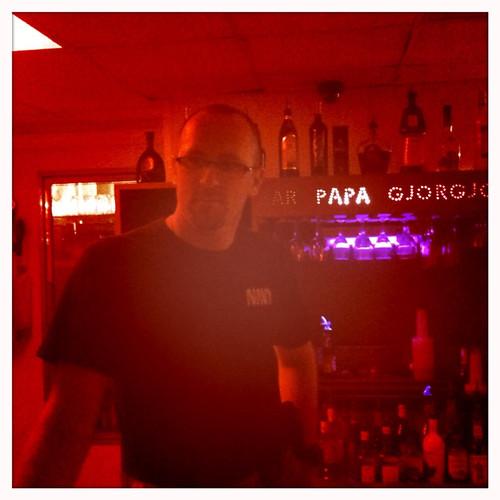 Joe, the bartender