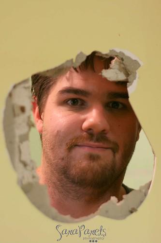 David in a hole